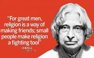 Best Quote of APJ-Abdul kalam-Todays affair