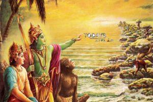Lord-Rama-Watches-the-monkeys | todaysaffair