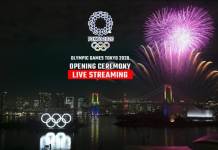 Tokyo Olympic Grand Opening